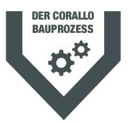 Corallo Bauprozess